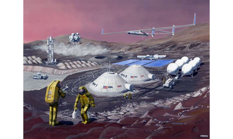 Food on Mars, food on Earth: Nasa taps USU scientists for space quest