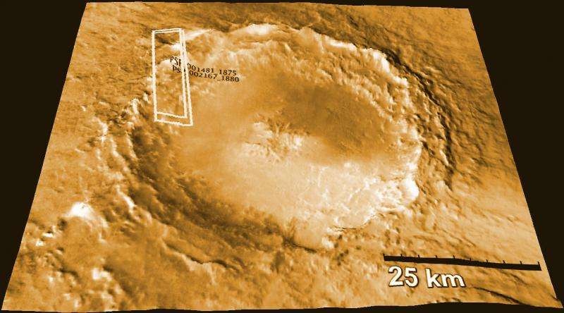 How a mineral found in Martian meteorites may provide clues to ancient abundance of water