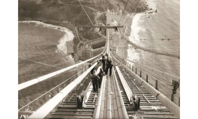 How would engineers build the Golden Gate Bridge today?