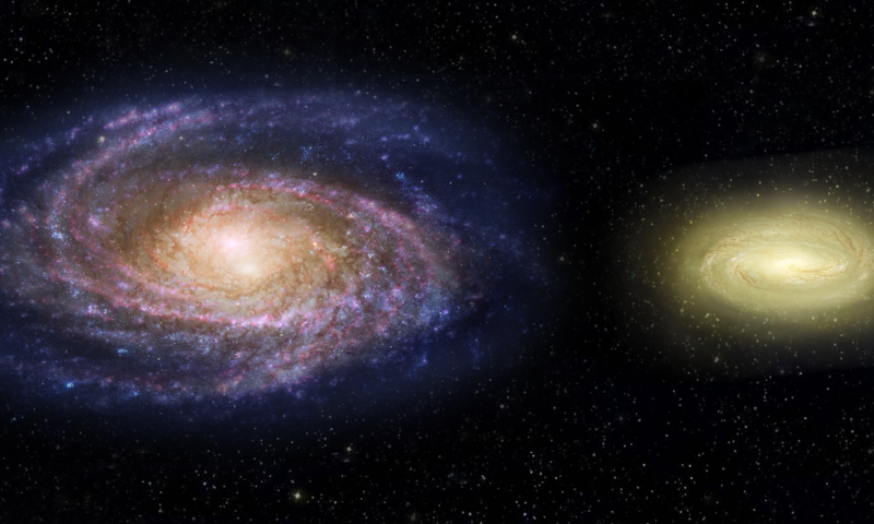 Hubble captures massive dead disk galaxy that challenges theories of galaxy evolution