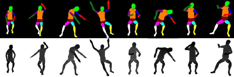 Human pose estimation for care robots using deep learning