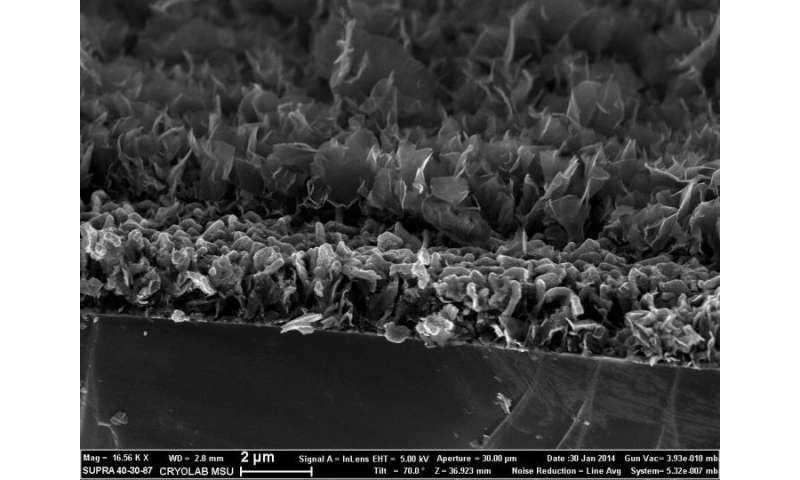 Lithium-ion batteries will get more efficiency due to silicon, germanium, carbon nanowalls