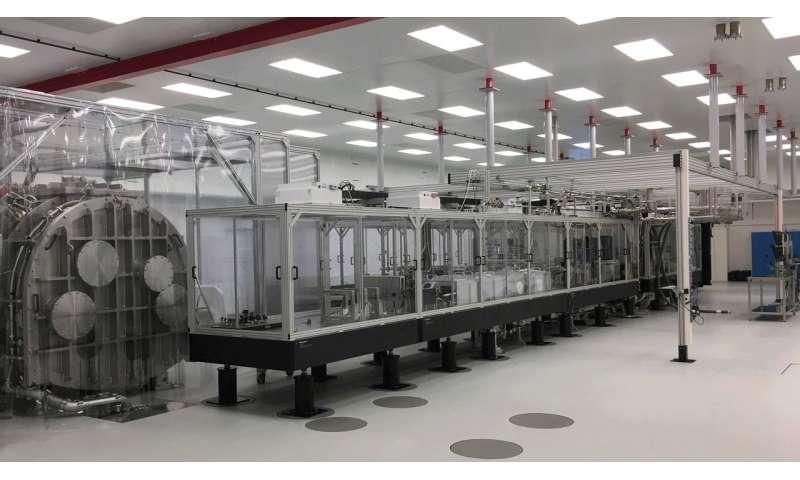 LLNL-developed Petawatt Laser Installed at ELI Beamlines