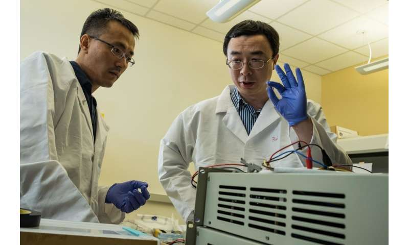 Microscopic defects make batteries better