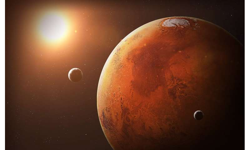 MSU biologists have found out how long can microorganisms live on Mars