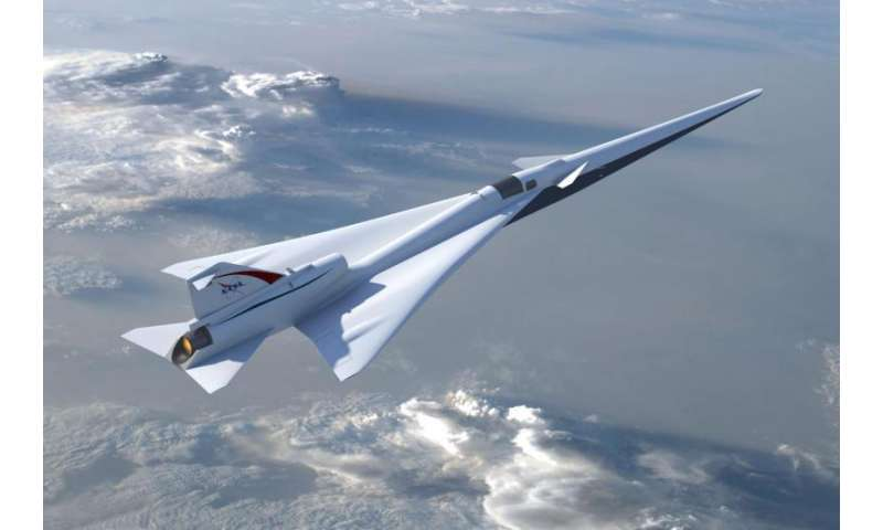 NASA completes milestone toward quieter supersonic X-plane