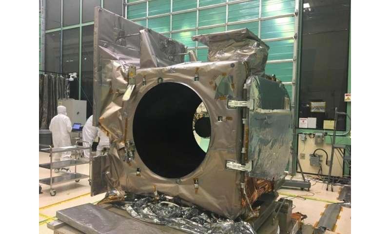 NASA's ICESat-2 preps for laser tests