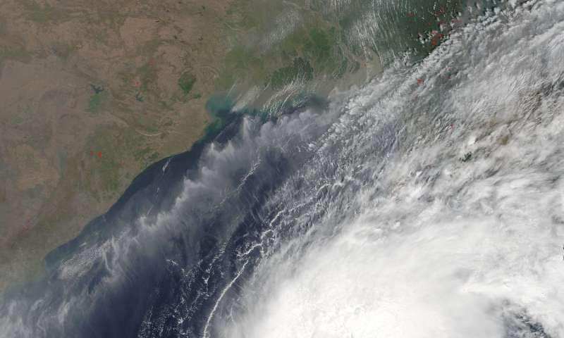 NASA spots short-lived Tropical Cyclone Maarutha