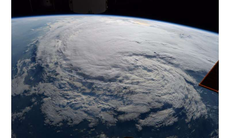 NASA watching Harvey from satellites and the International Space Station