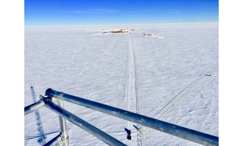 New crew and new research in Antarctica