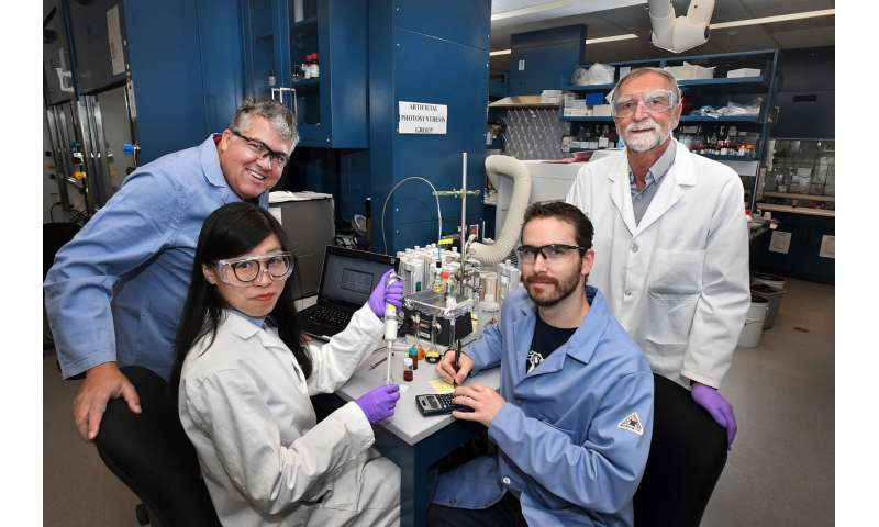New efficient catalyst for key step in artificial photosynthesis