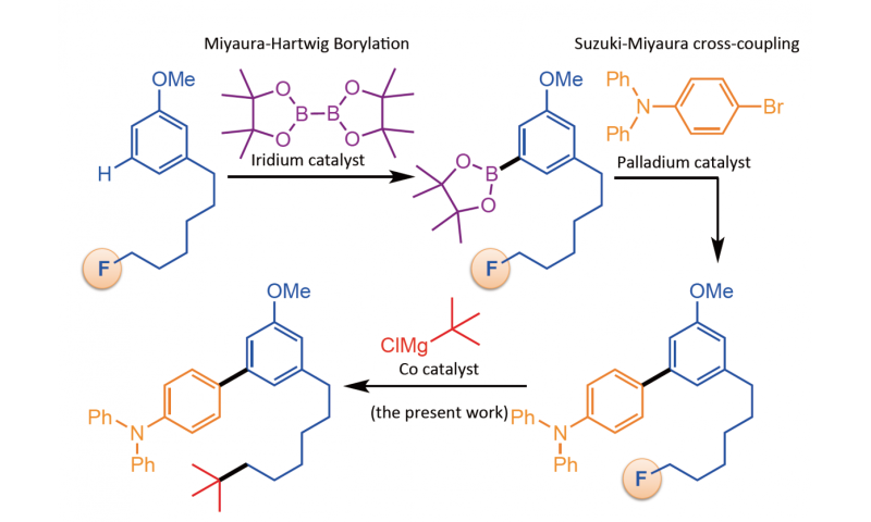 Osaka chemists build new chemical structures on unreactive bonds