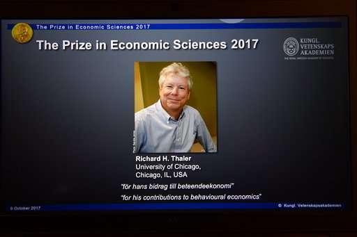 Richard Thaler wins Nobel for work in behavioral economics