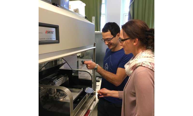Streamlining mass production of printable electronics