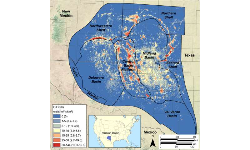 Study quantifies potential for water reuse in permian basin oil production