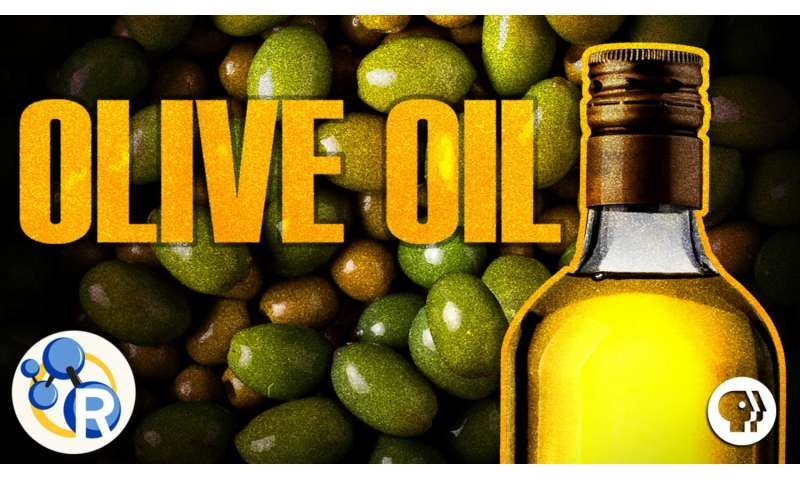 The chemistry of olive oil (video)