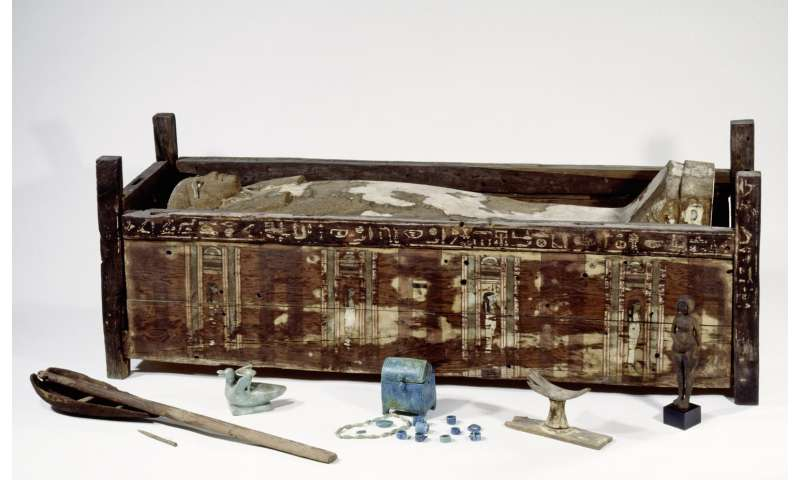 The first genome data from ancient Egyptian mummies