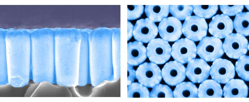 Thin, flexible, light-absorbent material for energy and stealth applications