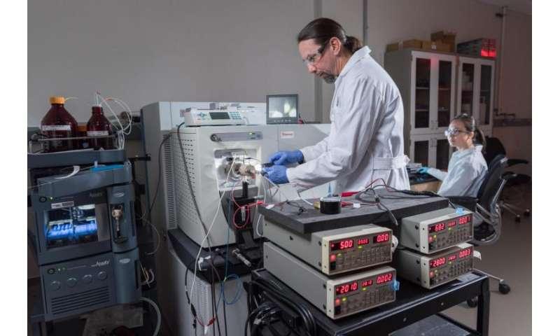 "Tiny ""tornado"" boosts performance of electrospray ionization mass spectrometry"