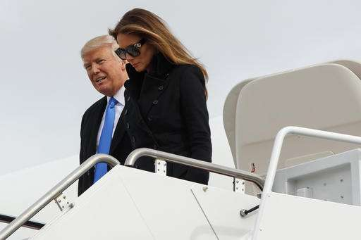 Trump steps into security bubble; will he bring his phone?
