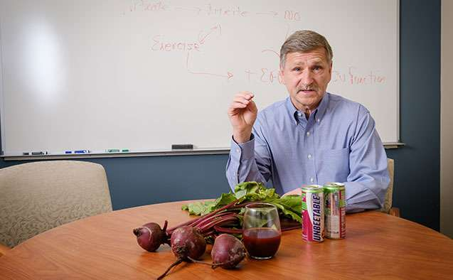 With beetroot juice before exercise, aging brains look 'younger'
