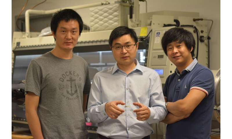 Researchers report new way to make dissolving electronics
