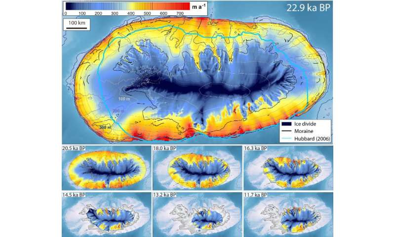 Climate change clues revealed by ice sheet collapse