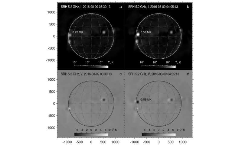 Researchers present first results of solar observations with the Siberian Radioheliograph