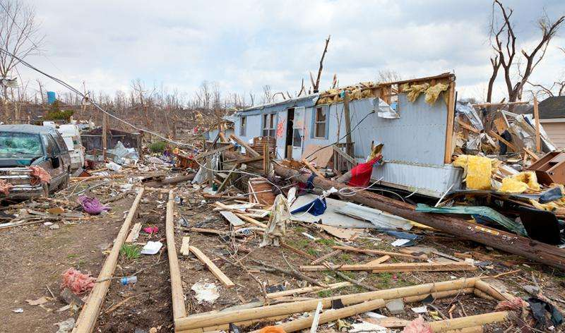 Climate change, tornadoes and mobile homes—a dangerous mix