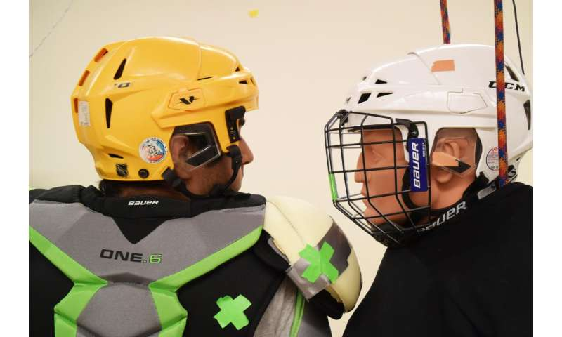Researchers find shoulder pad foam layer plays role in fewer concussions
