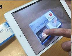 Augmented reality app to help people manage type 2 diabetes & high blood pressure
