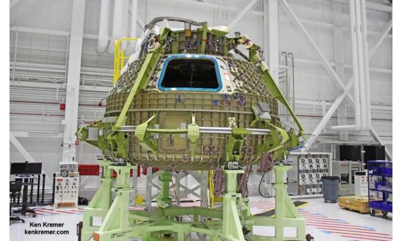 Boeing unveils blue spacesuits for Starliner crew capsule