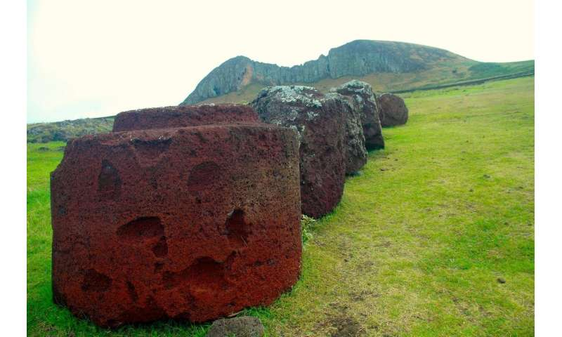 Easter Island had a cooperative community, analysis of giant hats reveals