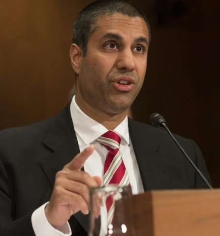 Federal Communications Commission Chairman Ajit Pai said his plan would roll back rules that discourage investment in internet i