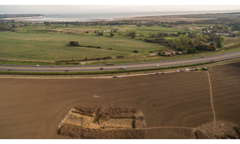 First evidence for Julius Caesar's invasion of Britain discovered