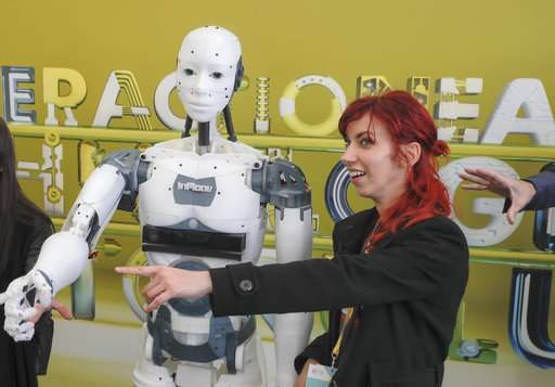 French designer shows off DIY robot in public for first time
