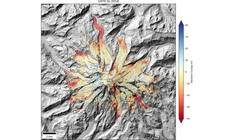 Mountain glaciers shrinking across the West