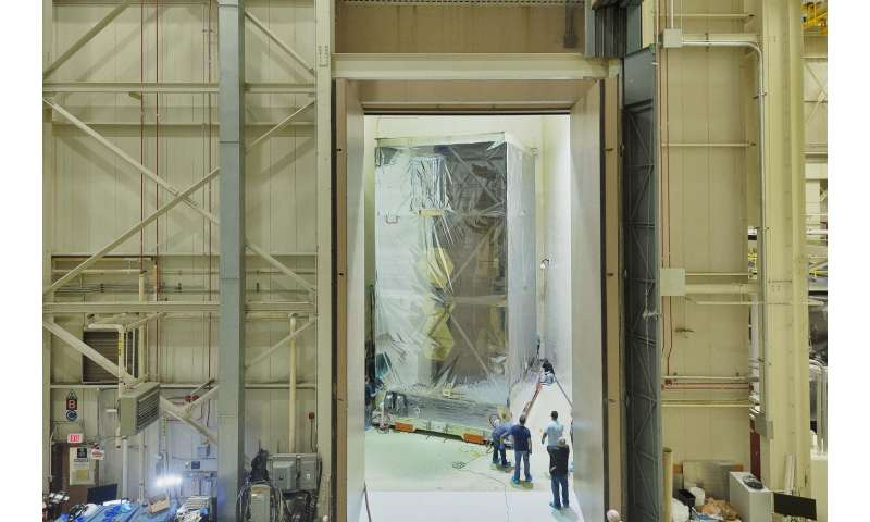 NASA's Webb Telescope team prepares for earsplitting acoustic test