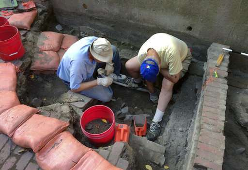 No. 2 if by sea: Outhouse tied to Paul Revere is excavated