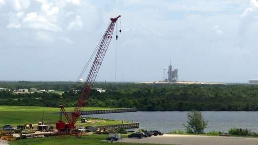Private companies drive 'new space race' at NASA center