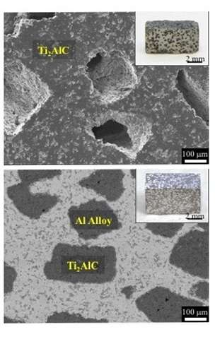 Rapid ceramic-metal processing for superior composites