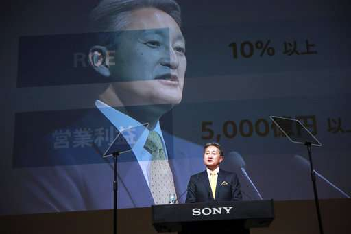 Sony chief promises profitability, but is short on specifics