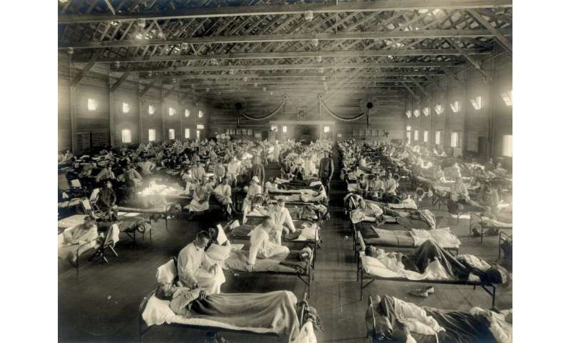The mystery of a 1918 veteran and the flu pandemic