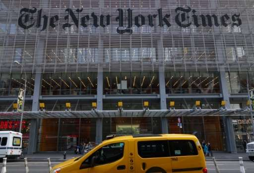The New York Times has attributed some of its readership gains to renewed interest in its aggressive coverage of the Trump admin