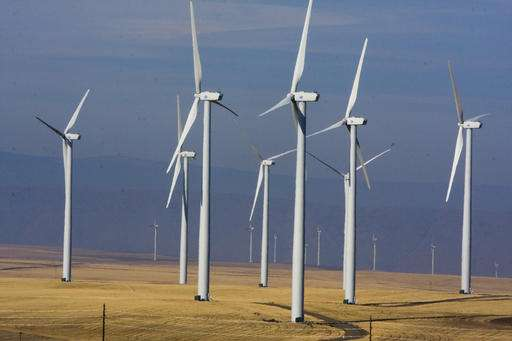 Trump's victory creates uncertainty for wind and solar power