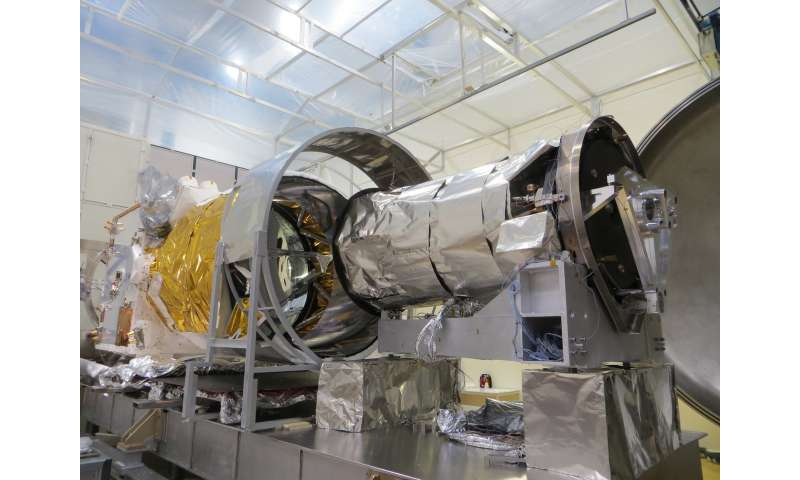 Wind satellite vacuum packed