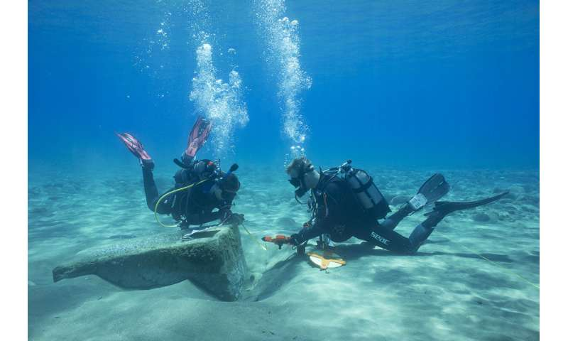 Archaeologist dives to study ancient trade routes in Cyprus
