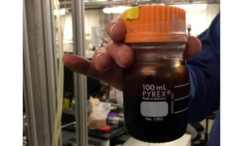 Researchers find more efficient way to make oil from dead trees