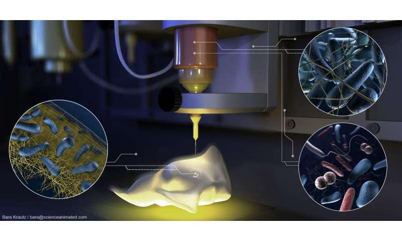 3D-printed minifactories
