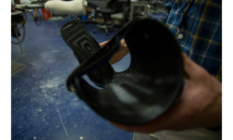 3-D printed orthotics, prosthetics:—a better fit, the same day
